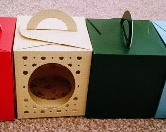 Handmade Cupcake Box
