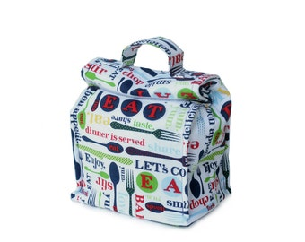 MTO Insulated lunch bag with handle - Food