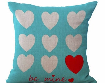 Be Mine Heart - Pillow Cover