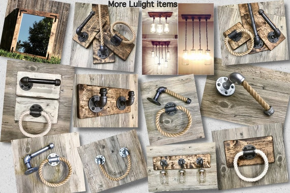 Rustic Industrial Modern Mason Jar Light Fixture Porch By: Rustic Industrial Modern Mason Jars Light Fixture Vanity