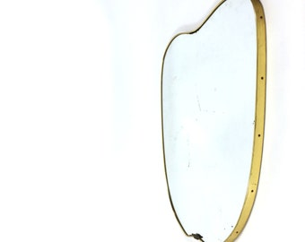 Ravishing mirror made in Italy in the 1950's.