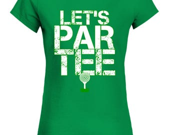Custom Women's Let's Par Tee Golf | Witches 7 T-Shirt | Golf Party Shirt | Funny Golfing T Shirt | Golfer Clothing