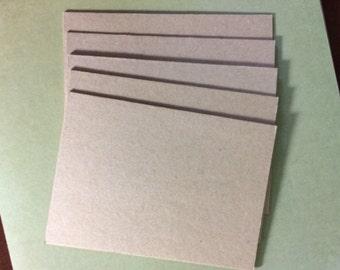 "2.5"" x 3.5"" Handmade Chipboard Cards"