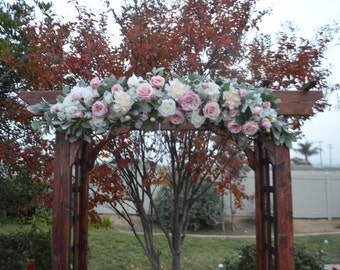 Wedding Arch, Chuppah Flowers, Wedding Arch flowers, Arbor Flowers, Silk Arbor Flowers, Wedding Arbor Flowers, Arch Ceremony Flowers