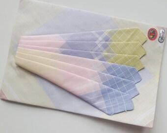 Vintage unused handkerchiefs cotton set of three