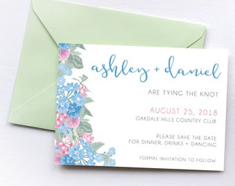 Customizable Save the Dates, Wedding Invitation, Custom Save the Date, Wedding Invite, Wedding Printables, Save the Date Wedding Invitations