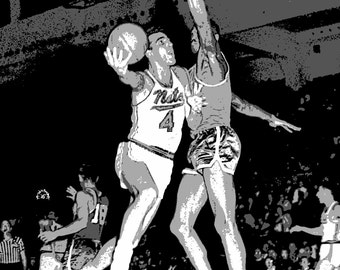 Art Print of Dolph Schayes