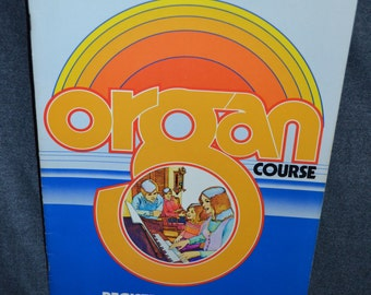 """Vintage 1977 """"Registration Guide"""" Music and Song Book Organ Course by Yamaha Electone"""