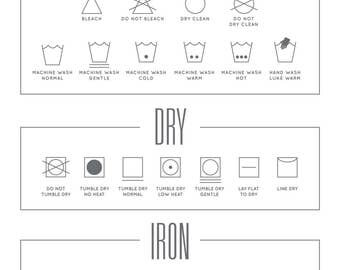 Laundry Cheat Sheet