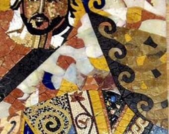 Flash Cards- Modern Mosaic Abstract Art