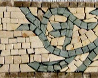 Mosaic Border - Gardenia