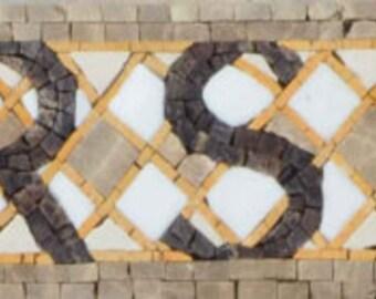 Mosaic Border Art - Versace