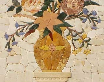 Pietra Dura- Floral Tile Mosaic Patterns