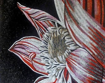 Big Flower Mosaic Arts