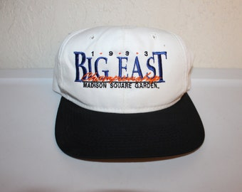 Vintage 1993 Big East Madison Square Garden Championship Snapback by The Game