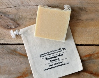 Rosemary Mint Goat Milk Shampoo Bar
