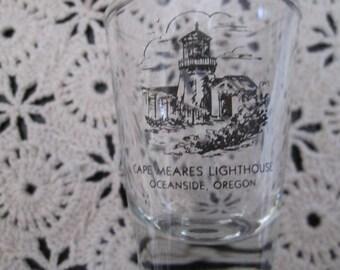 "Tall (4"") Shot glass from Oregon Coast"