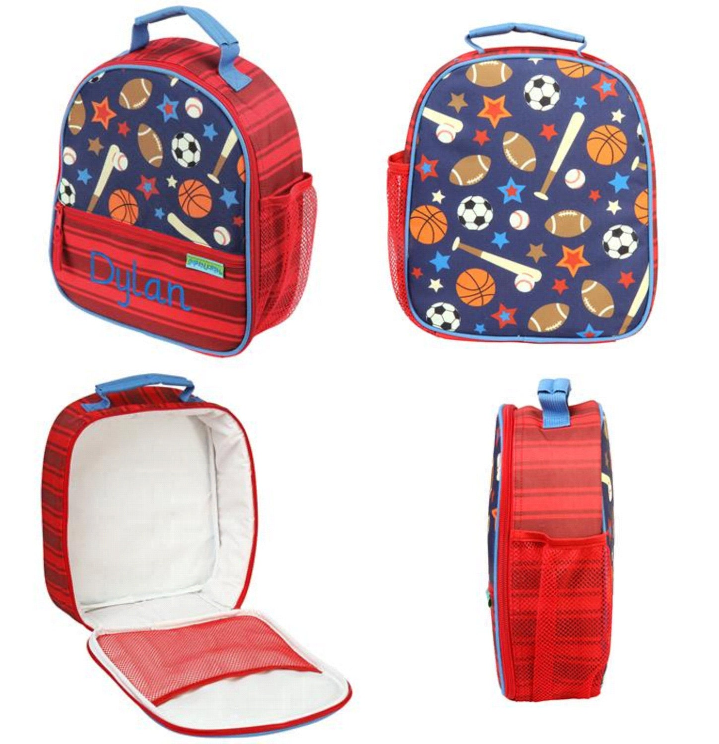 Stephen Joseph Kids All Over Print Backpack and Lunch Box ...