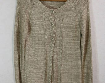 Cardigan Sweater Women Sweater Dress Size XL