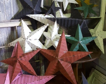 "Original Amish Barn Stars 9"" Price Includes UK Shipping"