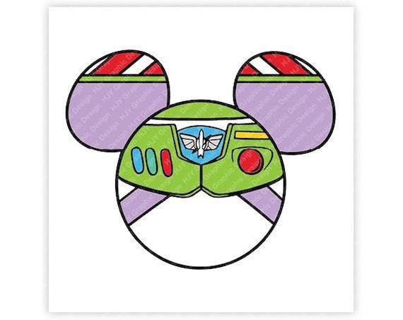 Disney Toy Story Buzz Lightyear Space Ranger Icon Mickey