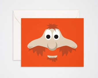Youppi Greeting Card