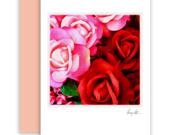 Lover's Roses  Note cards beautiful Artwork