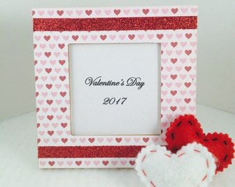 Valentines day party-preschool  Valentine's Day gifts-valentines day party favor, valentines day gift for kids, mini picture frame