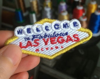 Las Vegas Embroidered Patch