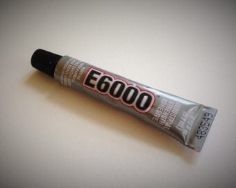 Qty 2 E6000 Adhesive - 5.3 ml, .18 oz tube - Jewelry and craft adhesive - shipping to US destinations only
