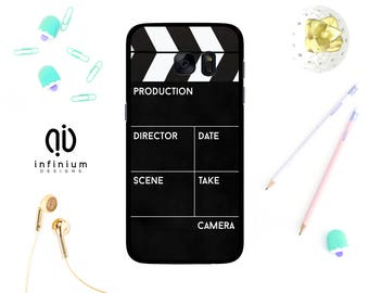 Movie Clapboard Case For Samsung S8, iPhone 8, 8 Plus, iPhone 7, iPhone 6S, 5S, Samsung S8 Plus, Samsung S7, S7 Edge, Samsung J5 & Note 8