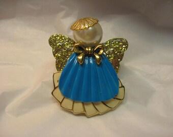 Homemade Angel Pin