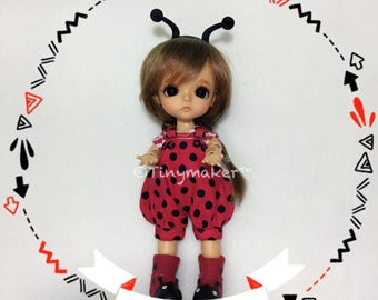 Lady bug outfits for 1/8 dolls [lati yellow, pukifee]