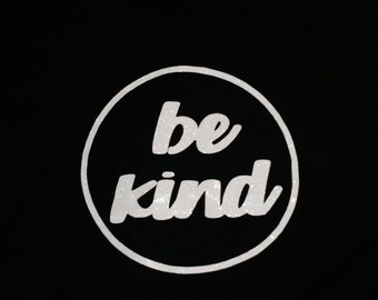 """Be Kind Iron on Vinyl Decal 5.8"""""""