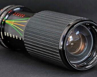 Canon FD 75-300mm f/5.6 MC 1:3 Macro Lens Ae-1 Ae-1P A-1 F1 T90 T70 t50 Sears MiNTY !