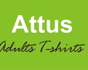 Custom Short Sleeves T-shirts - Adult sizes