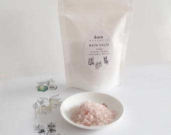 STILL & TONE Bath Salts | O R G A N I C | Essential Oils | Relax | Soothe | Cellulite Help | Hydrate | Gift for Her | Thank You Gift |