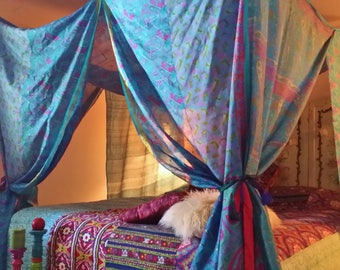 Bohemian Bedroom Canopy bed canopy bohemian bed canopy gypsy bedroom boho bedroom