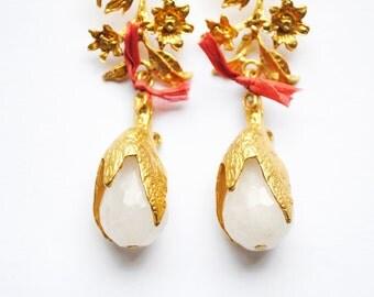 Earrings, Jewelry, Turkish Jewelry, Drop Earring, Statement jewelry, Bohemian, Boho Jewelry, Boho chic, Gift for her, Umut ii Earrings