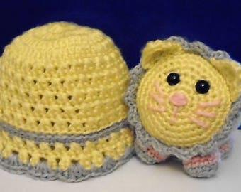 Fluffalump & Baby Hat Set