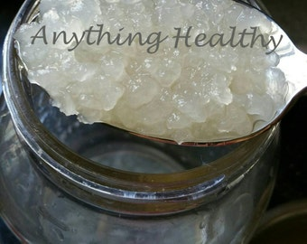 2 TBSP Fresh Water Kefir Grains Live Tibicos Probiotic Culture, Soda  Alternative, Improve Digestion & Gut Health, DIY, Good Bacteria