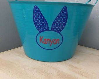 Personalized Easter Basket Buckets
