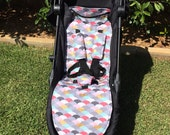 CITY TOUR Pram Liner Pattern/ PDF Sewing Pattern for Baby Jogger City Tour Pram/Stroller