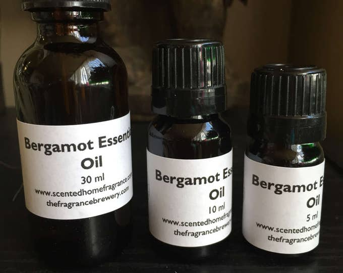Bergamot Essential Oil,  Bergamot, Bergaptene Free Calabrian Essential Oil, Pure Essential Oil, Aromatherapy, Mood Enhancer, Heal Scars,5ml
