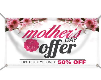 Mother's Day sale Banner 3' x 5'
