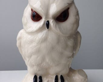 Vintage ceramic OWL money box