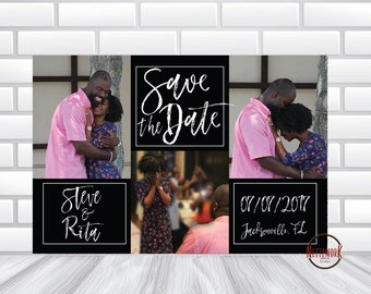 Photo SAVE THE DATE Card ** Digital File **