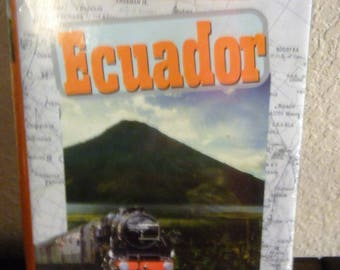 "Vintage 1996 Train Ride ""Ecuador"" VHS/ Never Opened"