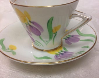 Phoenix Bone China Cup and Saucer -  Christmas Gift