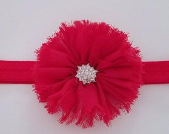Chiffon Ballerina Elastic Headband